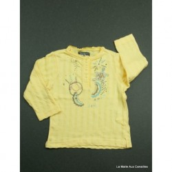 NEUF- T-shirt ML TCF 6 mois