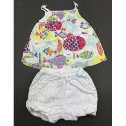Top + short Baby Boden 12/18 mois