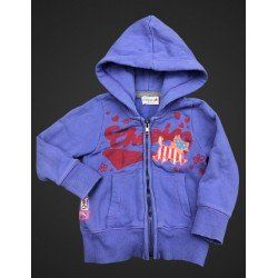 Sweat zippé Chipie 3 ans