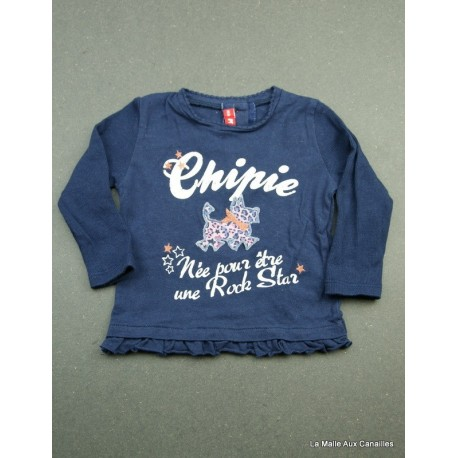 T-shirt ML Chipie 6 mois
