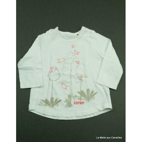 T-shirt ML Esprit 6 mois