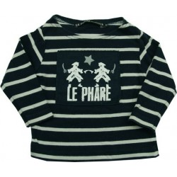 T-shirt ML Le Phare de la Baleine 6 mois