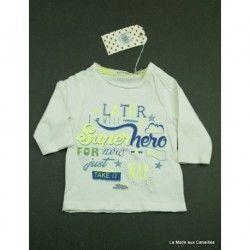 T-shirt ML Billybandit 3 mois