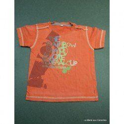 Tee shirt Captain Tortue 2 ans