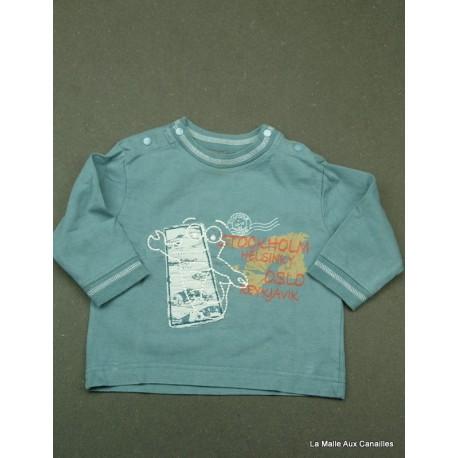T-shirt ML TCF 12 mois