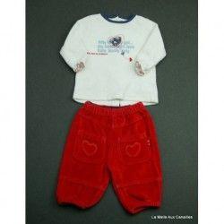 f9d462b247b9c Vêtements fin de séries pour fille en taille 6 mois . 90% de remise ...
