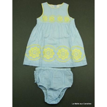 Robe + culotte Baby Boden 12/18 mois