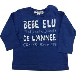 T-shirt ML Creeks 6 mois