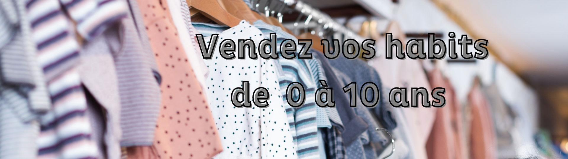 Vendez vos vêtements